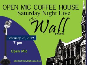 Saturday Night Live @ Wall Street United Church